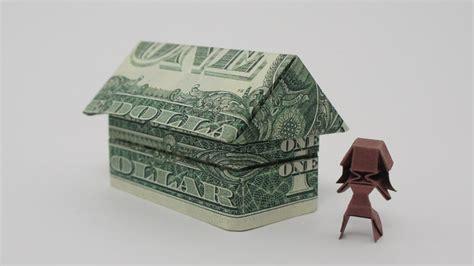dollar bill origami house origami 2 house jo nakashima doovi