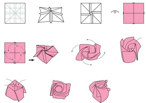 how do you make origami flowers origami flower flower crafts origami