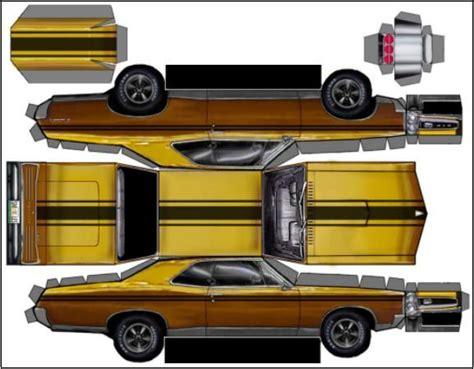paper craft car v8 monsta car papercraft via papermau 003 zpswrmkuktg jpg
