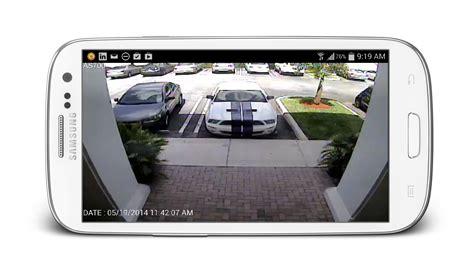 camara de seguridad android view security cameras from android app