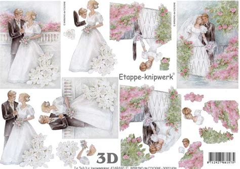wedding decoupage sheets the wedding 3d decoupage craft sheet