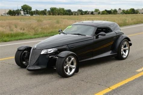 Plymouth Prowler Horsepower by Plymouth Prowler 3 5 V6 253 Hp