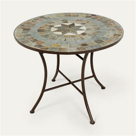 mosaic patio tables customer reviews for ellister zurich mosaic patio table 80cm