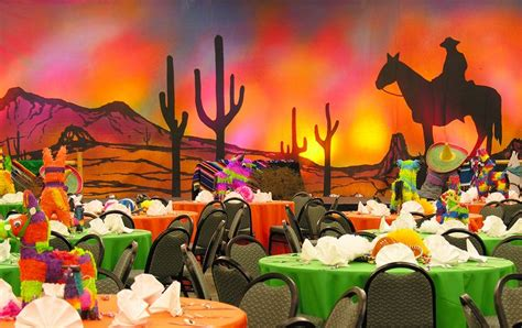 mexican themed mexican themed with pi 241 ata centerpieces