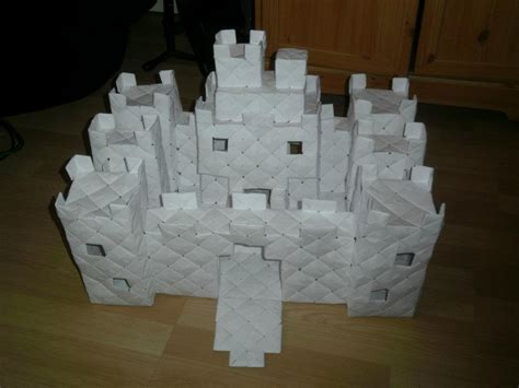 origami castle modular origami castle 2 by fuzzymo1994 on deviantart