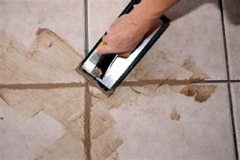 how to grout tile how to repair re grouting ceramic tile how to re grout