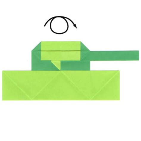 easy origami tank how to make a 2d origami tank page 13