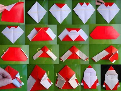 santa clause origami daily dose of creativity diy santa origami