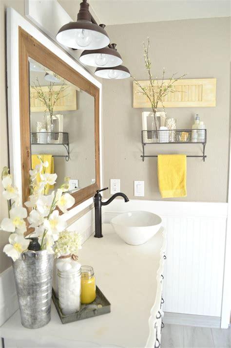 yellow accessories for bathroom best 25 yellow bathroom decor ideas on diy