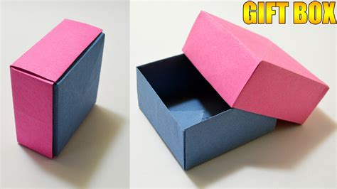 easy origami gift box origami gift box with cover easy