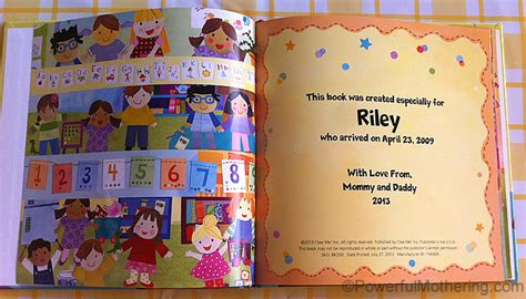 customized picture books personalized books for i see me review