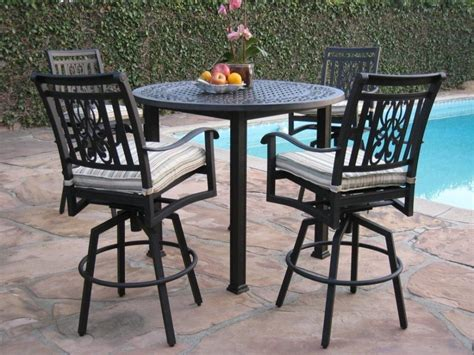 patio furniture bar table furniture images about diy patio furniture on patio bar