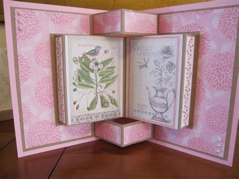 folding card ideas book fold card by michele g cards and paper crafts at