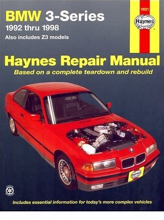 what is the best auto repair manual 1992 mercedes benz w201 on board diagnostic system bmw 3 series 1992 1998 bmw z3 1996 1998 repair manual haynes