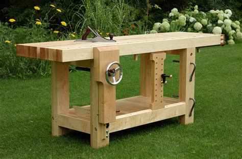 best woodworking workbench the benchcrafted split top roubo begins the wood whisperer