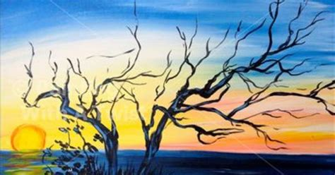 paint with a twist galleria beautiful sunset flower mound tx painting class