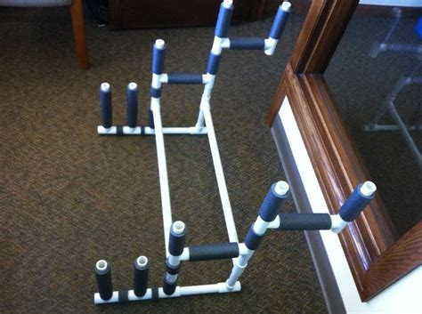 pvc pipe craft projects pvc r c aircraft stand need a place to keep all of your