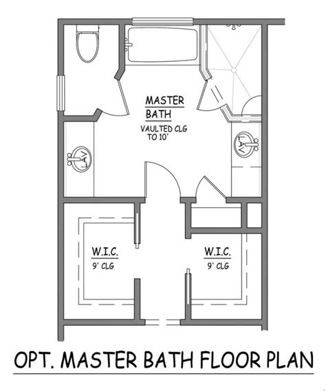 master bedroom with bathroom floor plans i like this master bath layout no wasted space