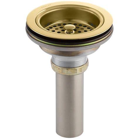 kohler duostrainer 4 1 2 in kitchen sink delta 4 1 2 in kitchen sink disposal and flange stopper