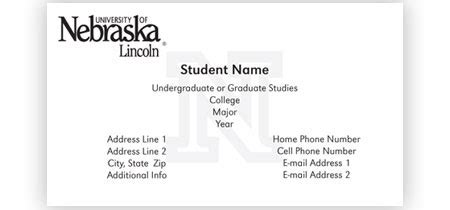 how to make a student business card student business cards lilbibby