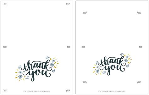 make free cards to print how to create printable thank you cards for teachers