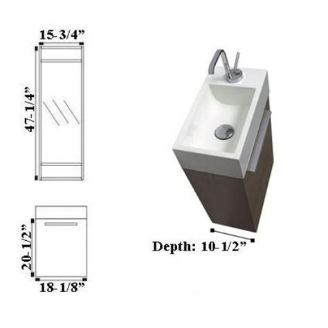 compact bathroom vanity focus t460 compact wall hung bathroom vanity