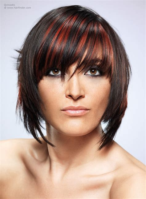 haircuts that are easy to maintain streaked bob hairstyle lightweight and easy to maintain