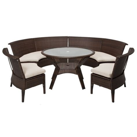 threshold rolston 5 wicker sectional pati target