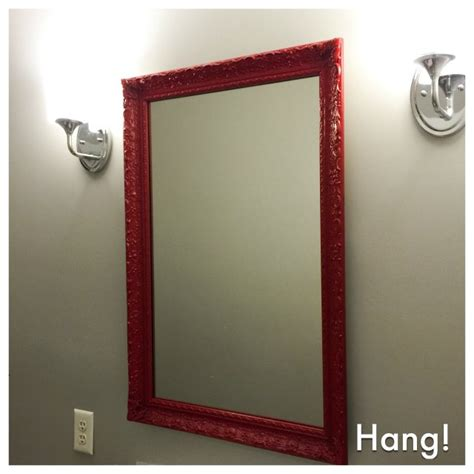 spray painting frames upcycling that mirror and frame into a new one