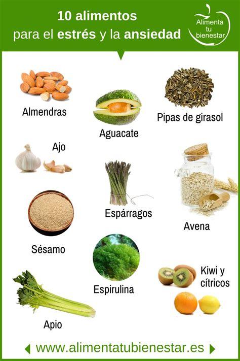 alimentos contra la ansiedad alimentos que alivian el estr 233 s