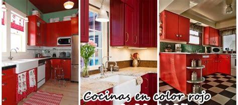 decoracion de interiores de cocina decoraci 243 n de interiores cocinas en color rojo curso