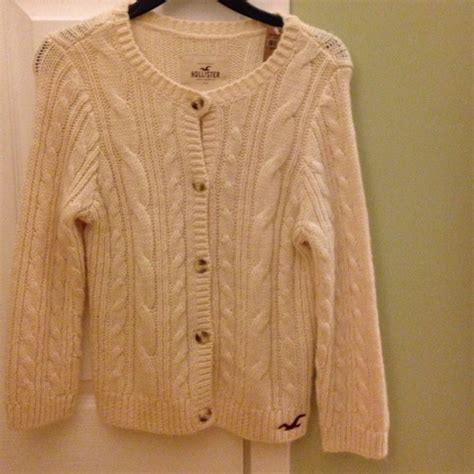 hollister cable knit sweater 30 hollister sweaters hollister button up cable