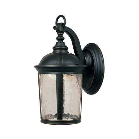 outdoor wall light led led outdoor wall light with clear glass in aged bronze