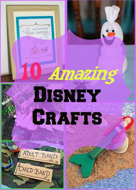 disney crafts 10 amazing disney crafts house of fauci s