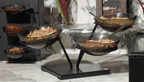 buffet table risers bowl buffet display risers