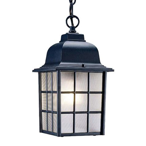 outdoor light fixtures home depot acclaim lighting collection 1 light matte black