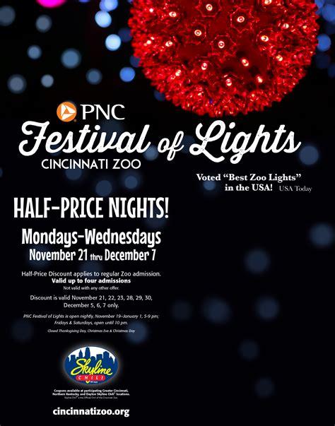 zoo festival of lights pnc festival of lights the cincinnati zoo botanical garden