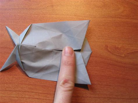 origami rhinoceros image origami rhino