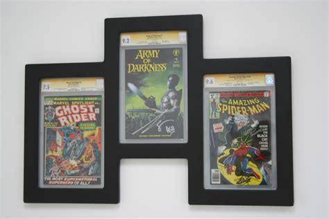 comic book picture frame comic book frames and displays for cgc graded books