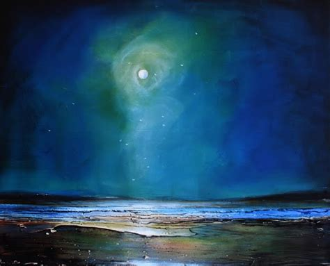 acrylic painting moonlight toni grote spiritual from my to yours april 2012