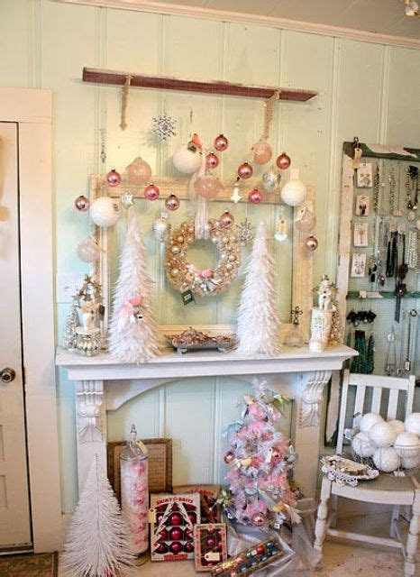 shabby chic mantel decor 44 delicate shabby chic d 233 cor ideas digsdigs