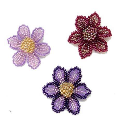 beaded flower pattern 177 best beaded flower patterns images on