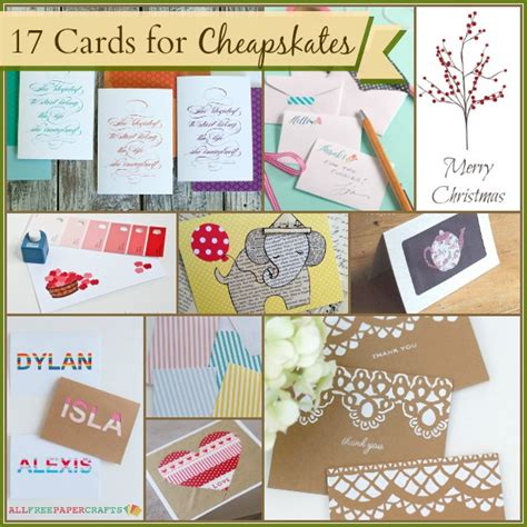 make a greeting card free printable 17 handmade cards for cheapskates cheap eats and thrifty