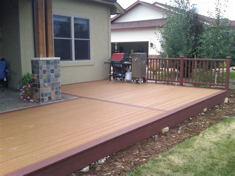 patio and decking designs pleasant outdoor small deck designs inspirations for your