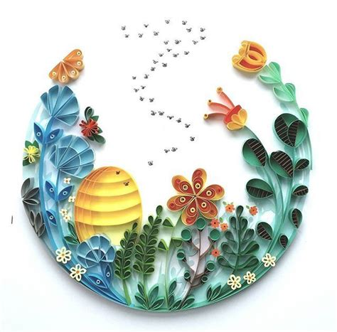 paper craft quilling top 25 best quilling ideas on paper