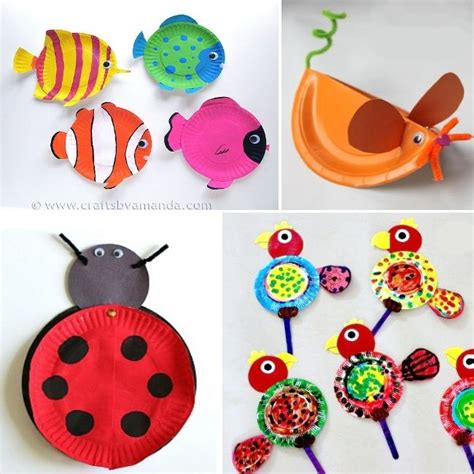 how to make paper craft animals animal paper plate crafts paper plate animals for