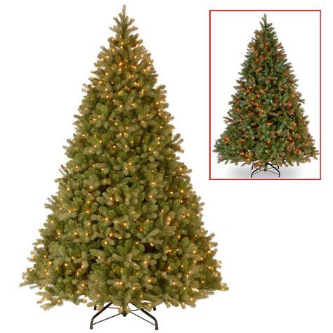 dual color tree national tree company 9 ft powerconnect downswept douglas