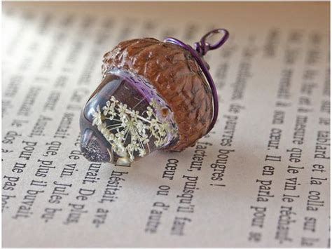 what do i need to make resin jewelry adorable acorn charm diy resin