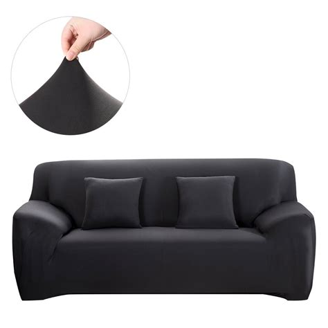 sofa slipcover black winomo sofa slipcover black covers furniture