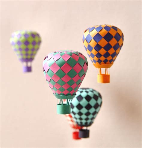 origami balloon beautiful balloon paper craft papermodeler